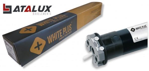 Atalux Rollladenmotor WHITE PLUS 10 Nm bis 20 kg Premiumqualtität 6 J. Garantie